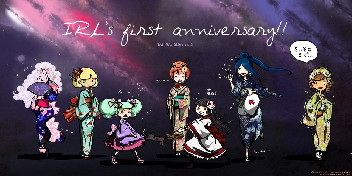 1st anniversary!